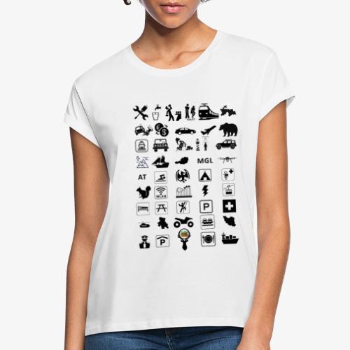 Where should I go now? - Frauen Oversize T-Shirt