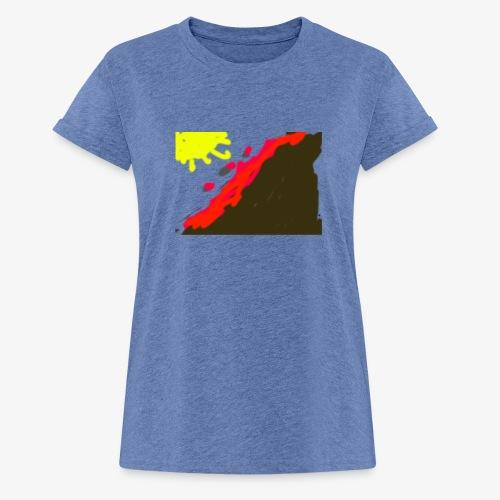 flowers - Dame oversize T-shirt