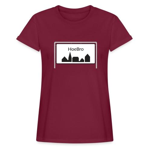 Hoebro - Dame oversize T-shirt