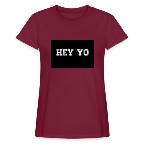 Hey yo - T-shirt oversize Femme