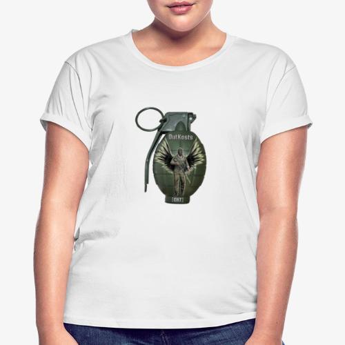 grenadearma3 png - Women's Oversize T-Shirt