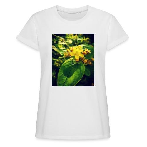 Fleur - T-shirt oversize Femme