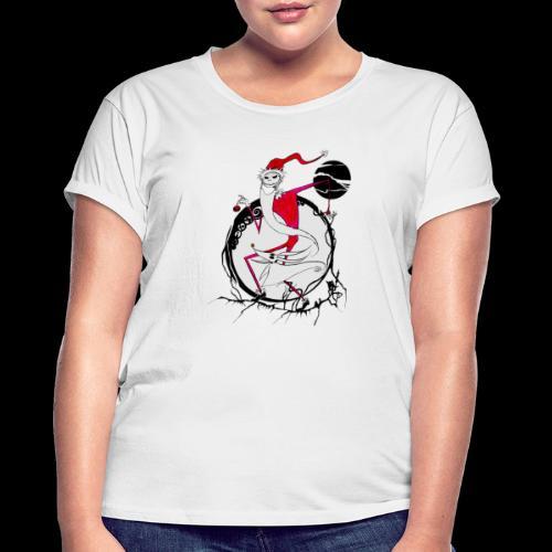 D25 Rey de la Ciudad de Halloween low - Camiseta holgada de mujer