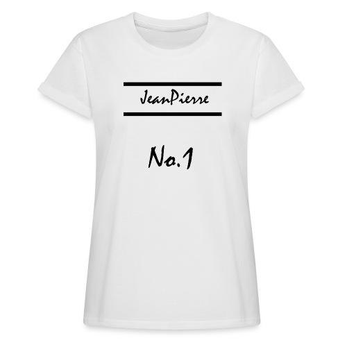JeanPierreNo1 png - Frauen Oversize T-Shirt