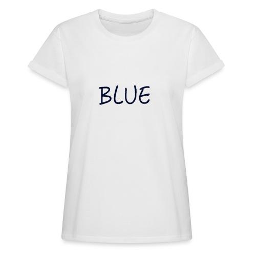 BLUE - Vrouwen oversize T-shirt