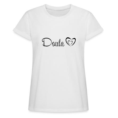 doula sydämet - Naisten oversized-t-paita