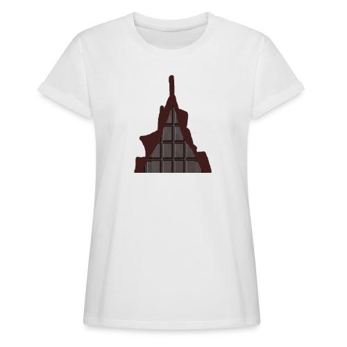 Vraiment, tablette de chocolat ! - T-shirt oversize Femme
