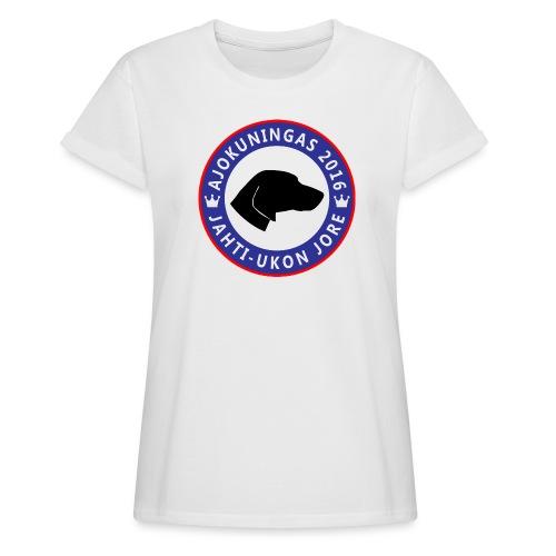 Ajokuningas t-paita - Naisten oversized-t-paita