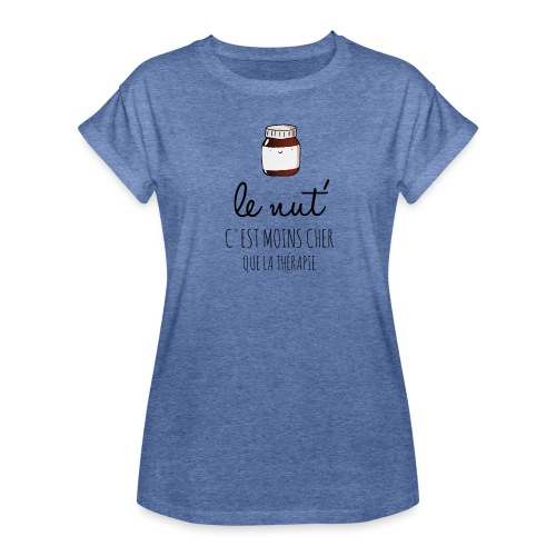 Le Nut' - T-shirt oversize Femme