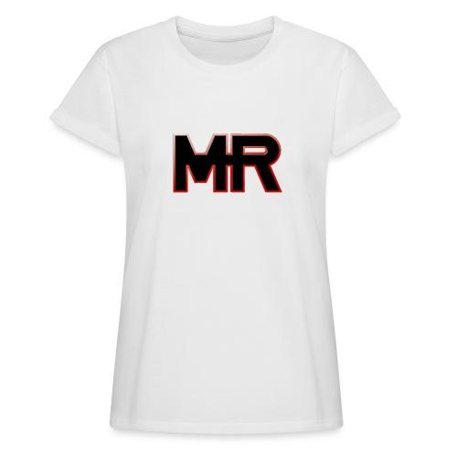 MR logo - Dame oversize T-shirt