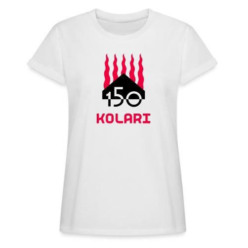 Kolari 150 - Naisten oversized-t-paita