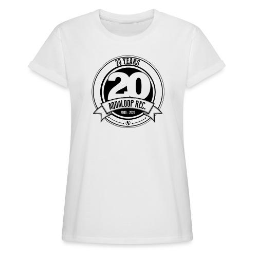 20Y Aqualoop Records - Women's Oversize T-Shirt