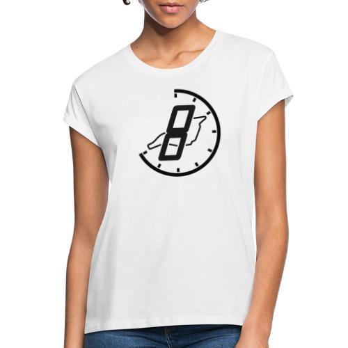 Official 8h Imola Logo - Frauen Oversize T-Shirt