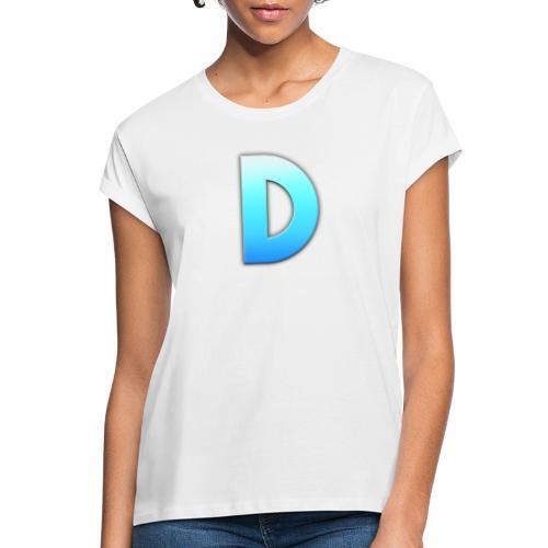 D LOGO - Camiseta holgada de mujer