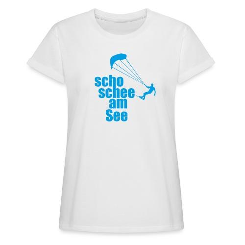 scho schee am See Surfer 01 kite surfer - Frauen Oversize T-Shirt