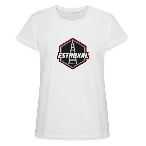 Estroxal - Logo - Naisten oversized-t-paita