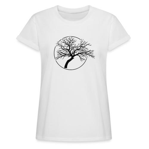 Vain and Hopeless - Tree icone_bk - T-shirt oversize Femme