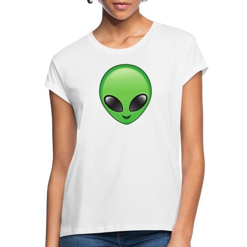 Alien face - Oversize-T-shirt dam