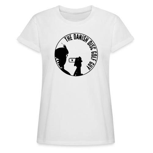 The Danish Disc Golf Guy Logo - Women's Oversize T-Shirt