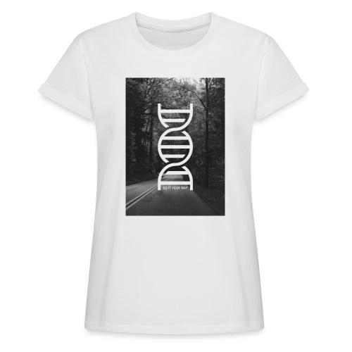 Fotoprint DNA Straße - Frauen Oversize T-Shirt