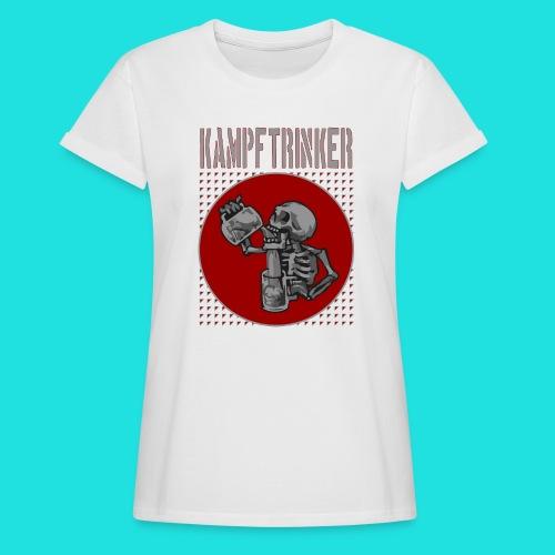 Kampftrinker - Frauen Oversize T-Shirt