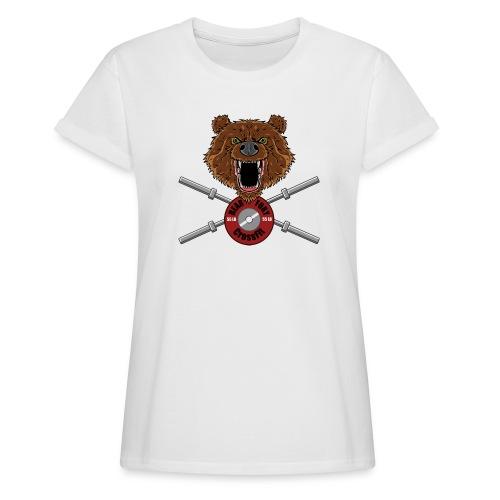 Bear Fury Crossfit - T-shirt oversize Femme
