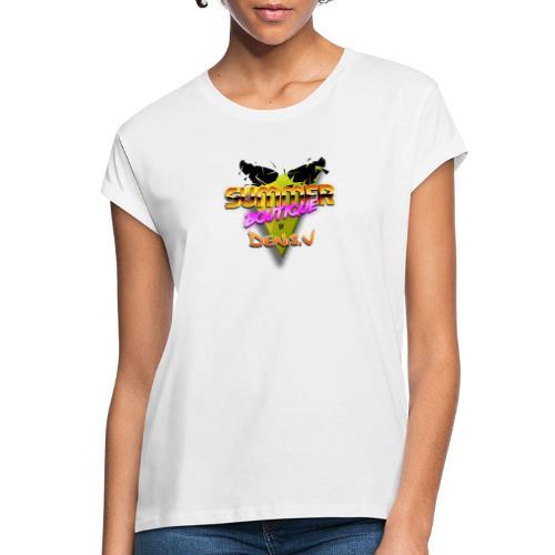 logo summer boutique - T-shirt oversize Femme