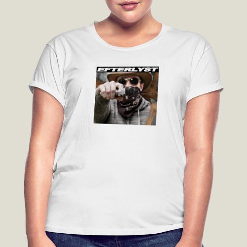 efterlyst bajs i bilen - Oversize-T-shirt dam
