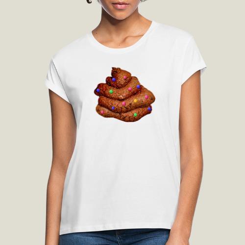 Maxad bajskorv! - Oversize-T-shirt dam