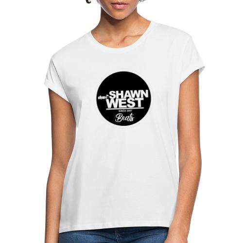 SHAWN WEST BUTTON - Frauen Oversize T-Shirt