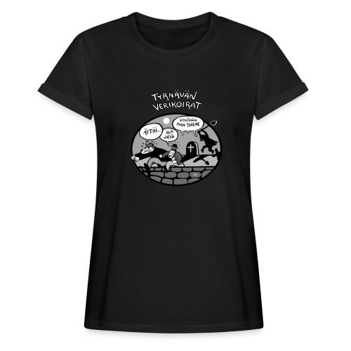 Tyrnävän Verikoirat 6 - Naisten oversized-t-paita
