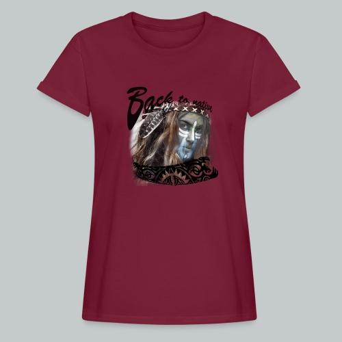 progress2 - Vrouwen oversize T-shirt