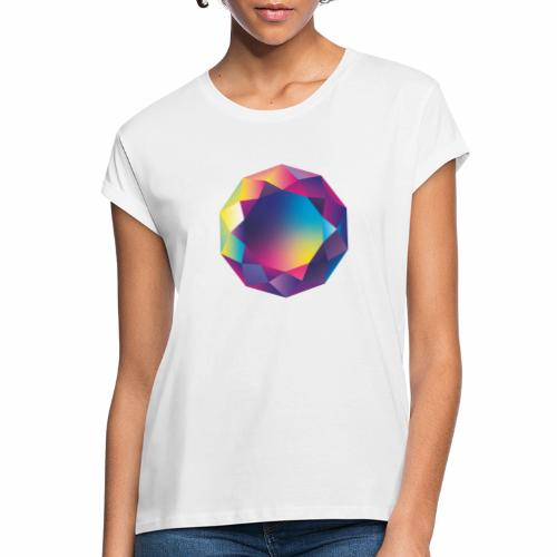 Diamond geometric illustration - Women's Oversize T-Shirt