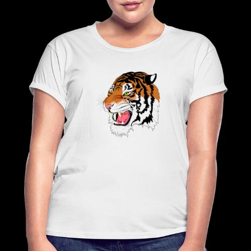 Sumatra Tiger - Frauen Oversize T-Shirt