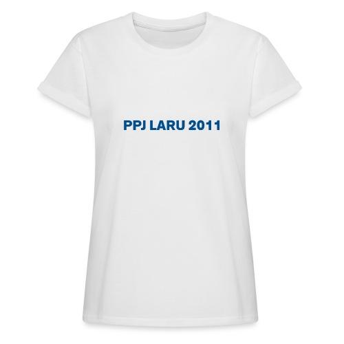 Teksti ilman seuran logoa - Naisten oversized-t-paita