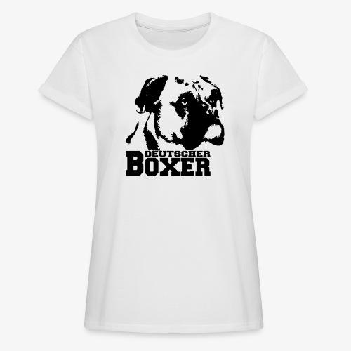 Deutscher Boxer - Frauen Oversize T-Shirt