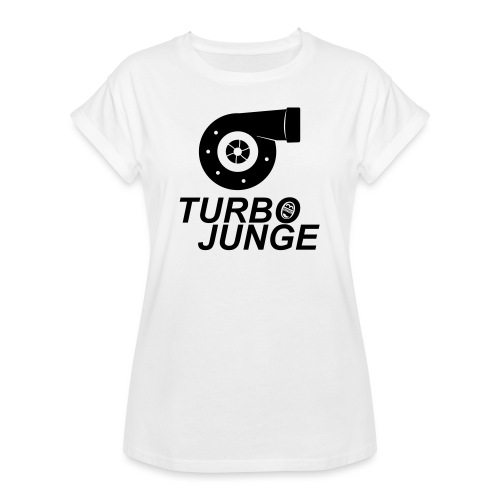 Turbojunge! - Frauen Oversize T-Shirt