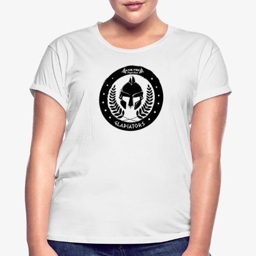 Gym Pur Gladiators Logo - Women's Oversize T-Shirt