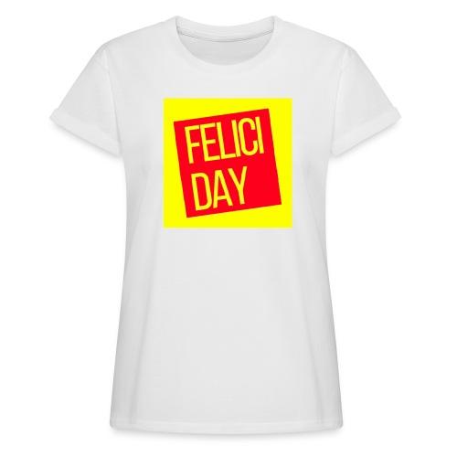 Feliciday - Camiseta holgada de mujer
