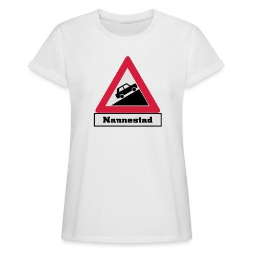 brattv nannestad a png - Oversize T-skjorte for kvinner