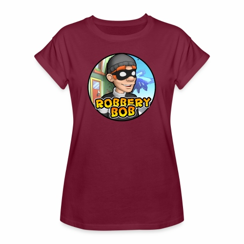 Robbery Bob Button - Women's Oversize T-Shirt