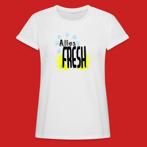 Alles Fresh / Frisch Sommer Eis - Frauen Oversize T-Shirt