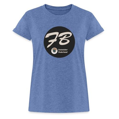 TSHIRT-INSTATUBER-NEDERLAND - Vrouwen oversize T-shirt