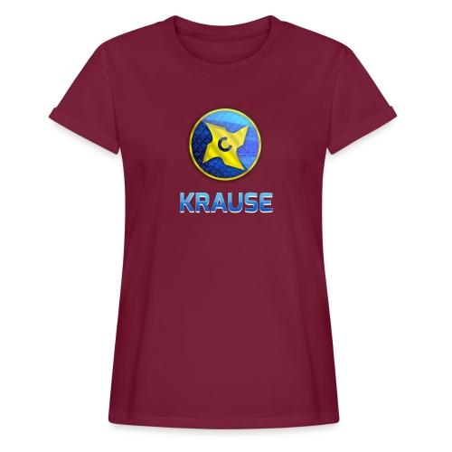 Krause shirt - Dame oversize T-shirt