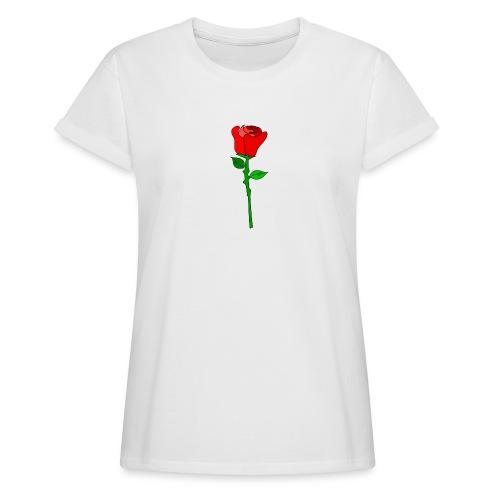 ROSE - Frauen Oversize T-Shirt