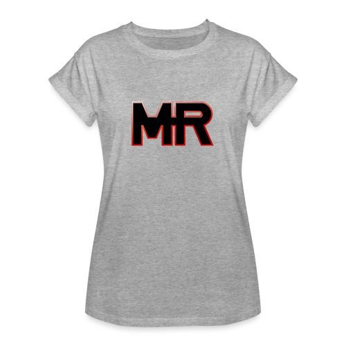 MR logo - Dame oversize T-shirt
