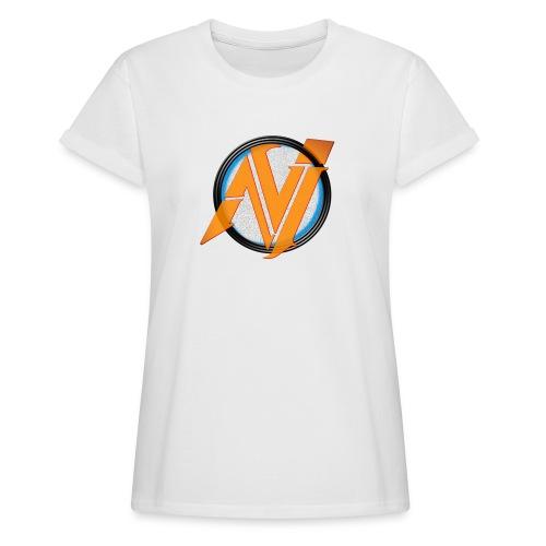 invi.rocks Logo - Frauen Oversize T-Shirt