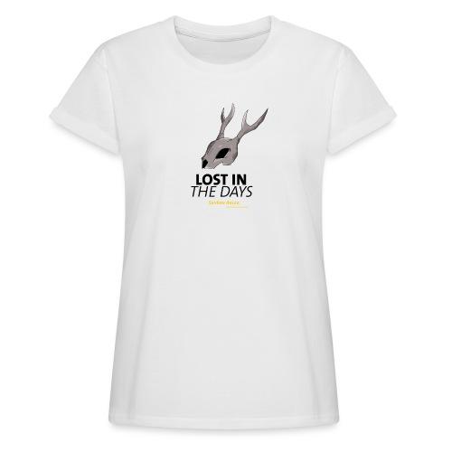 crane sky visu t shirt2 png - T-shirt oversize Femme