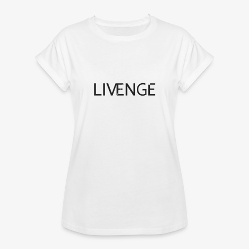 Livenge - Vrouwen oversize T-shirt