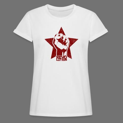 Revolution (oldstyle) - Naisten oversized-t-paita